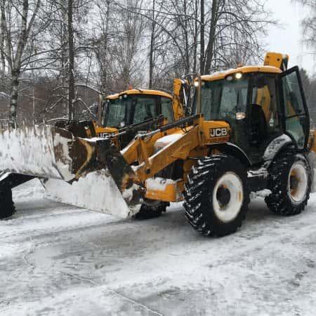 Небывалый снегопад в Москве и в Московской области