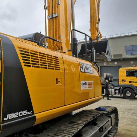 Новые гусеничные экскаваторы JCB JS 205